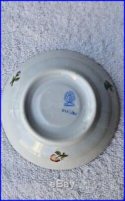 Antique Herend Hungary Mocha / Demitasse Cup & Saucer Queen Victoria
