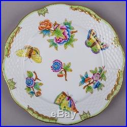 Brand New Herend Queen Victoria 7.5 Dessert Plate