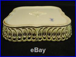 Gorgeous Herend Porcelain Hand Painted Queen Victoria Openwork Gallery Tray