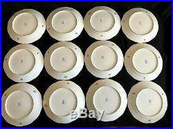 HEREND PORCELAIN HANDPAINTED QUEEN VICTORIA DINNER PLATE 524/VBO (12pcs.)