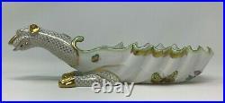 Herend Dragon Dish Oblong Dish Ashtray 7760-0-00 VBA Handpainted BNIB