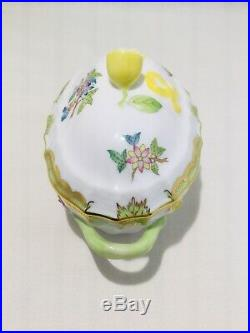 Herend Hungary Queen Victoria Mini Tureen 6786 With Lemon Finial. 2938