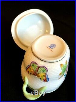 Herend Porcelain Handpainted Queen Victoria Bonboniere 6018/vbo