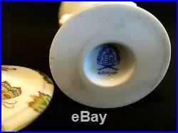 Herend Porcelain Handpainted Queen Victoria Rare Bonbon Box 6085/vbo
