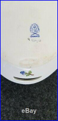 Herend Porcelain Handpainted tray, Queen Victoria pattern