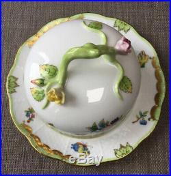 Herend Porcelain Queen Victoria Butter Dish