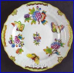 Herend QUEEN VICTORIA (GREEN BORDER) 1518 Salad Plate 5799477