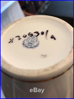 Herend Queen Victoria 10 Vase Hand-painted Porcelain