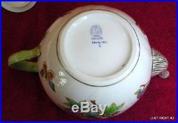 Herend (Queen Victoria) 5 1/8 FIVE CUP TEA POT Exc