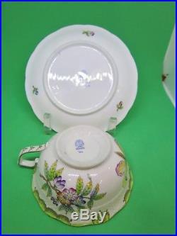 Herend Queen Victoria #734 Cup & Saucer