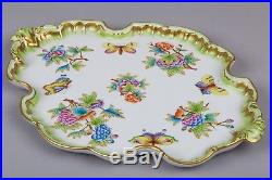 Herend Queen Victoria Baroque Style Platter #7536/VBO