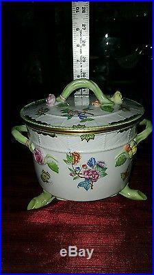 Herend Queen Victoria Biscuit Box