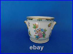 Herend Queen Victoria Cachepot porcelain