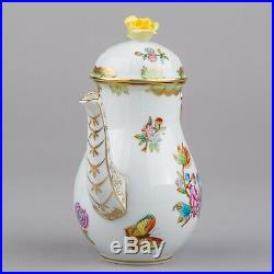 Herend Queen Victoria Coffee Mocha Pot #478/VBO II