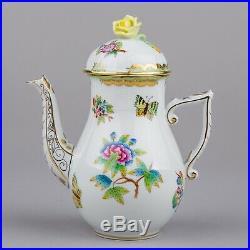Herend Queen Victoria Coffee Mocha Pot #613/VBO I