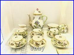 Herend Queen Victoria Coffee Set