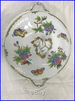 Herend Queen Victoria Covered Vegetable Serving Dish