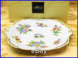 Herend Queen Victoria Dessert Plate, 1PIECES, EXCELLENT CONDITION