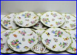 Herend Queen Victoria Dinner Plates 10. Pcs. 524/ VBO design