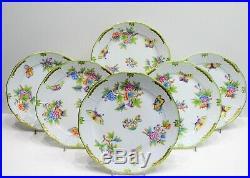 Herend Queen Victoria Dinner Plates 524/ VBO design