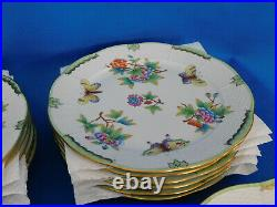 Herend Queen Victoria Full dinner set porcelain VBO (27 piece)