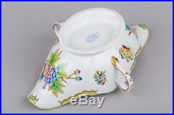 Herend Queen Victoria Gravy Boat with Handles #220/VBO