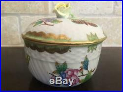Herend Queen Victoria Large Creamer & Sugar Bowl Vintage VBO Cream Pitcher