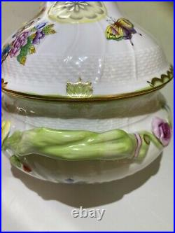 Herend Queen Victoria Large Soup Tureen
