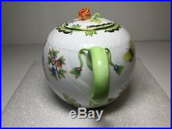 Herend Queen Victoria Large Teapot 1602 VBO