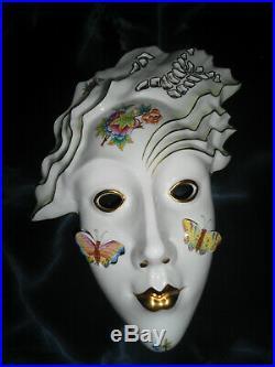 Herend Queen Victoria Mask porcelain VBO