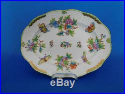Herend Queen Victoria Oval Service Platter # 118/ VBO