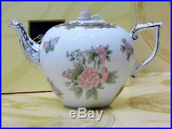 Herend Queen Victoria Platinum pattern Tea Pot