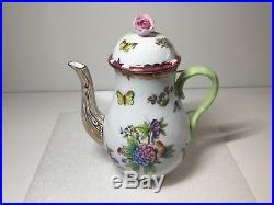 Herend Queen Victoria Raspberry Pink Coffee Pot 1613