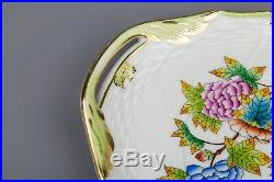 Herend Queen Victoria Rocaille Long Serving Tray #1435/VBO