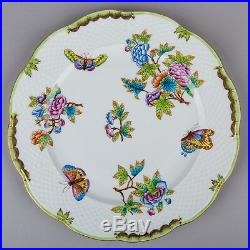 Herend Queen Victoria Round Serving Platter #527/VBO