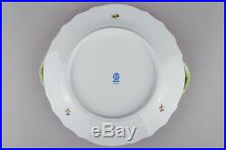 Herend Queen Victoria Round Serving Platter with Handles #1174/VBO