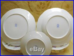 Herend Queen Victoria Royal Garden Plates Set, 18 Pieces, Brand New Boxed