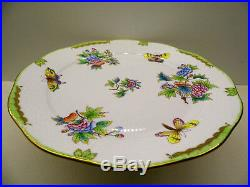 Herend Queen Victoria Service Plate Charger, Brand New Boxed, New Retail $455
