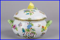 Herend Queen Victoria Soup Tureen with Lid and Handles #23/VBO