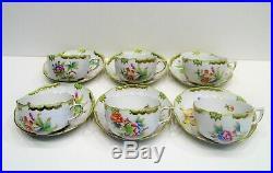 Herend Queen Victoria Tea Cup 6 Person VBO design