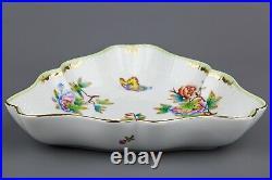 Herend Queen Victoria Triangle Dish #191/VBO