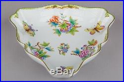 Herend Queen Victoria Triangle Serving Dish #191/VBO