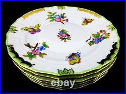 Herend Queen Victoria VBO Dessert Plates 6 pcs