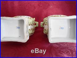 Herend Queen Victoria VBO Hamonika vase pair porcelain