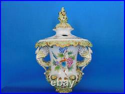 Herend Queen Victoria VBO Swan Vase (Bigger) porcelain