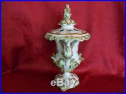Herend Queen Victoria VBO Swan Vase (Smaller) porcelain