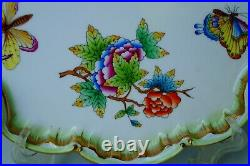 Herend Queen Victoria VBO baroque serving tray