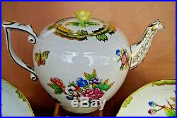 Herend Queen Victoria VBO tea set for 2 persons 7 pcs