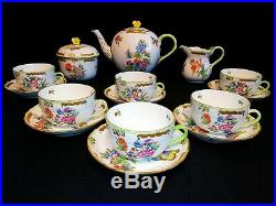 Herend Queen Victoria VBO tea set for 6 person