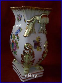 Herend Queen Victoria Vase. 10.2 #6612VBO